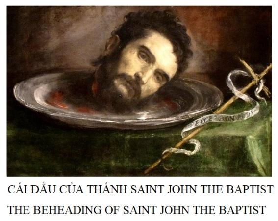 CÁI ĐẦU THÁNH JOHN ĐỔI LẤY SỰ THẬT